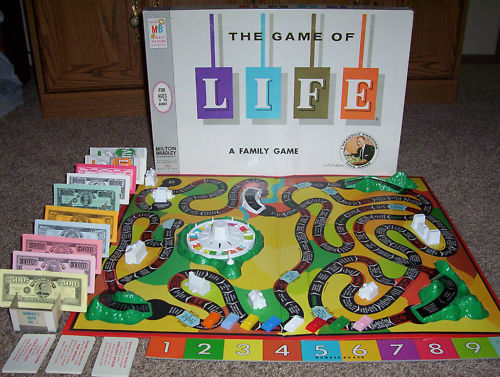 Best The Game Of Life Template Images >> Resume 50 Beautiful Card ...